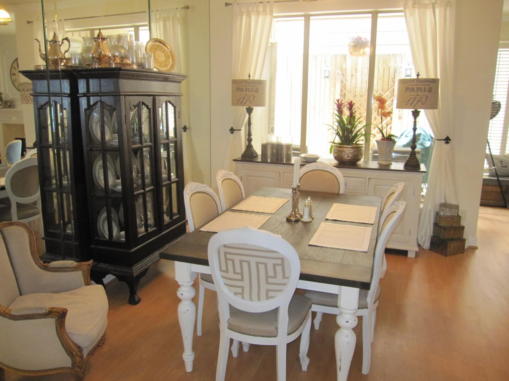 refinishing dining room furniture