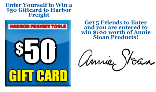 Harbor Freight & Annie Sloan Giveaway!