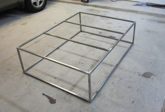 Custom Coffee Table – ala Restoration Hardware (and many others ...
