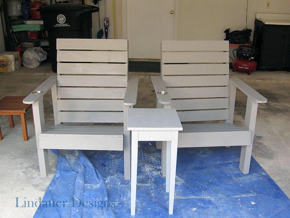 custom made patio adirondack chairs houston furniture refinishing