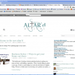 New Altar'd Website