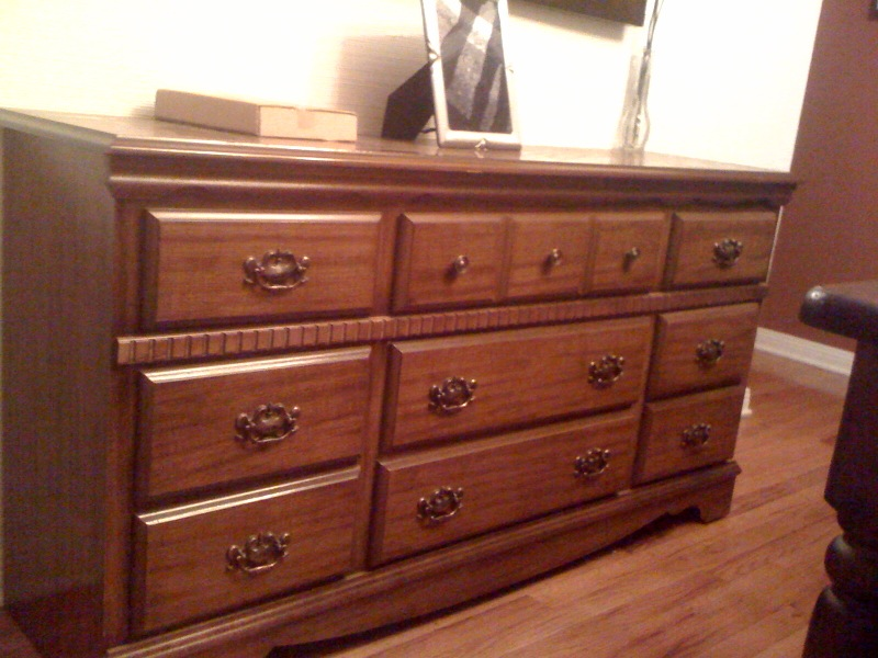 Painting Detail Finished Dresser Dresser   Before ...