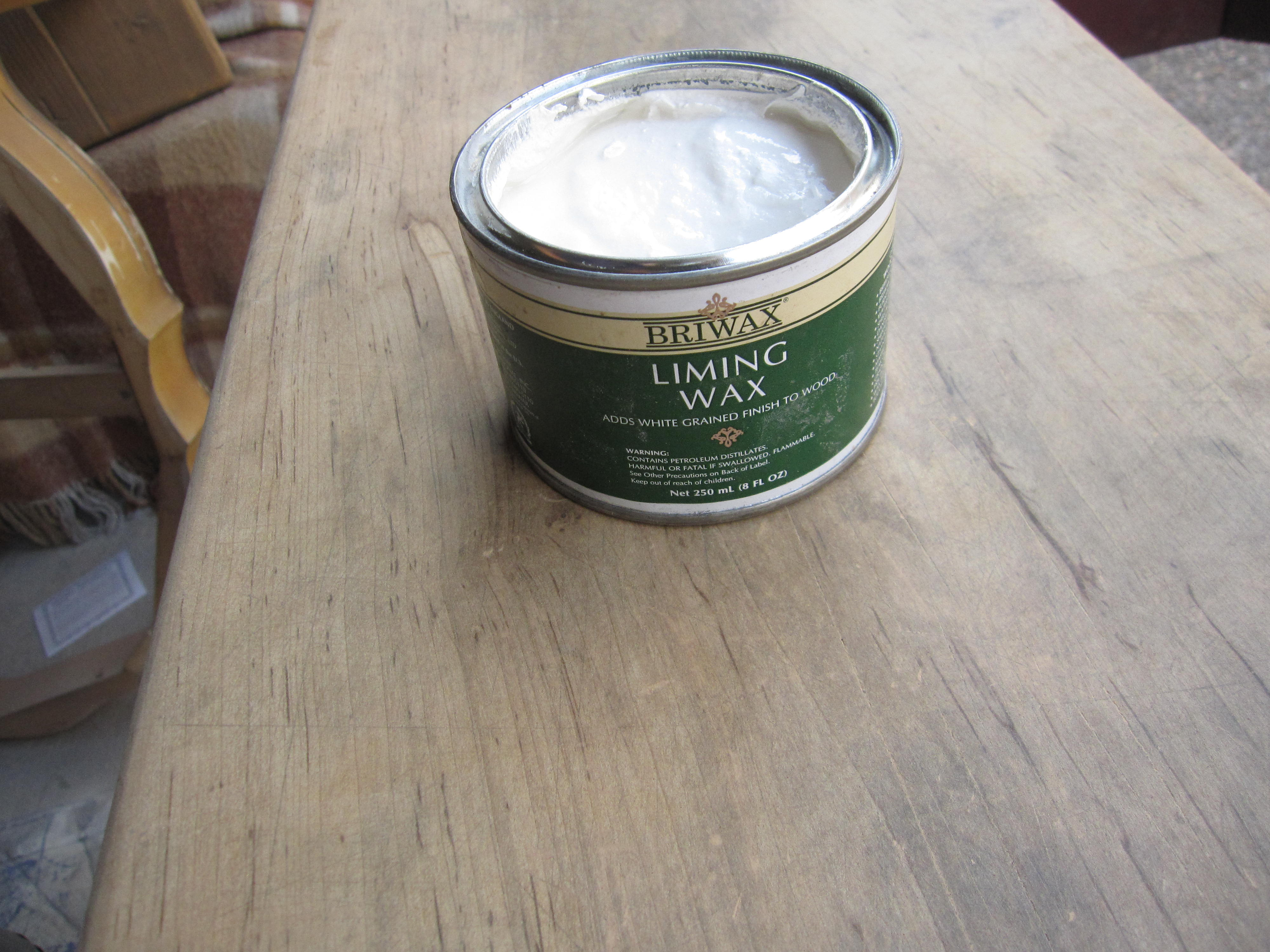 Superb img of Introducing: Briwax Liming Wax Houston Furniture Refinishing  with #76644A color and 4000x3000 pixels