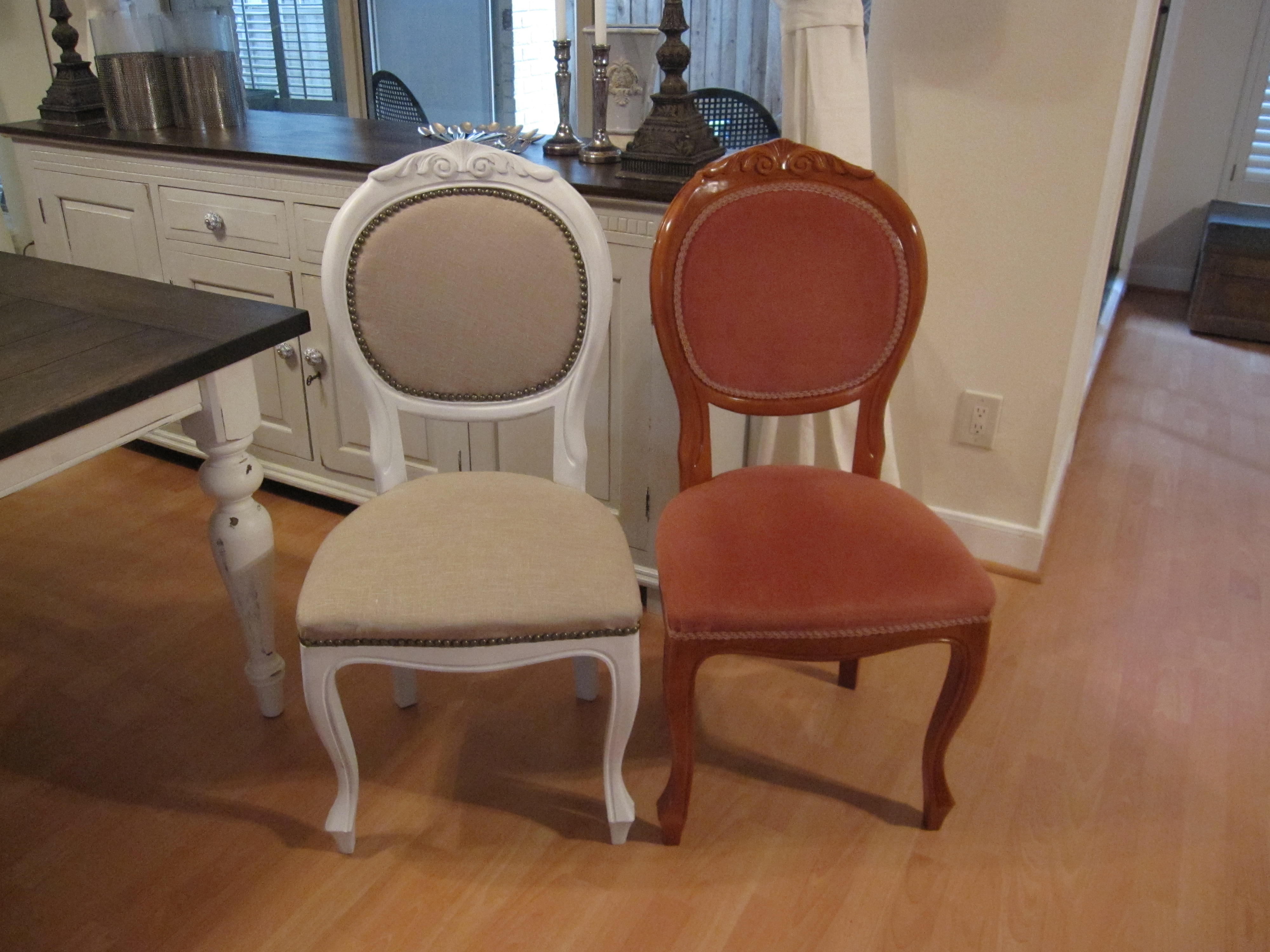 Refinished Dining Room Chairs