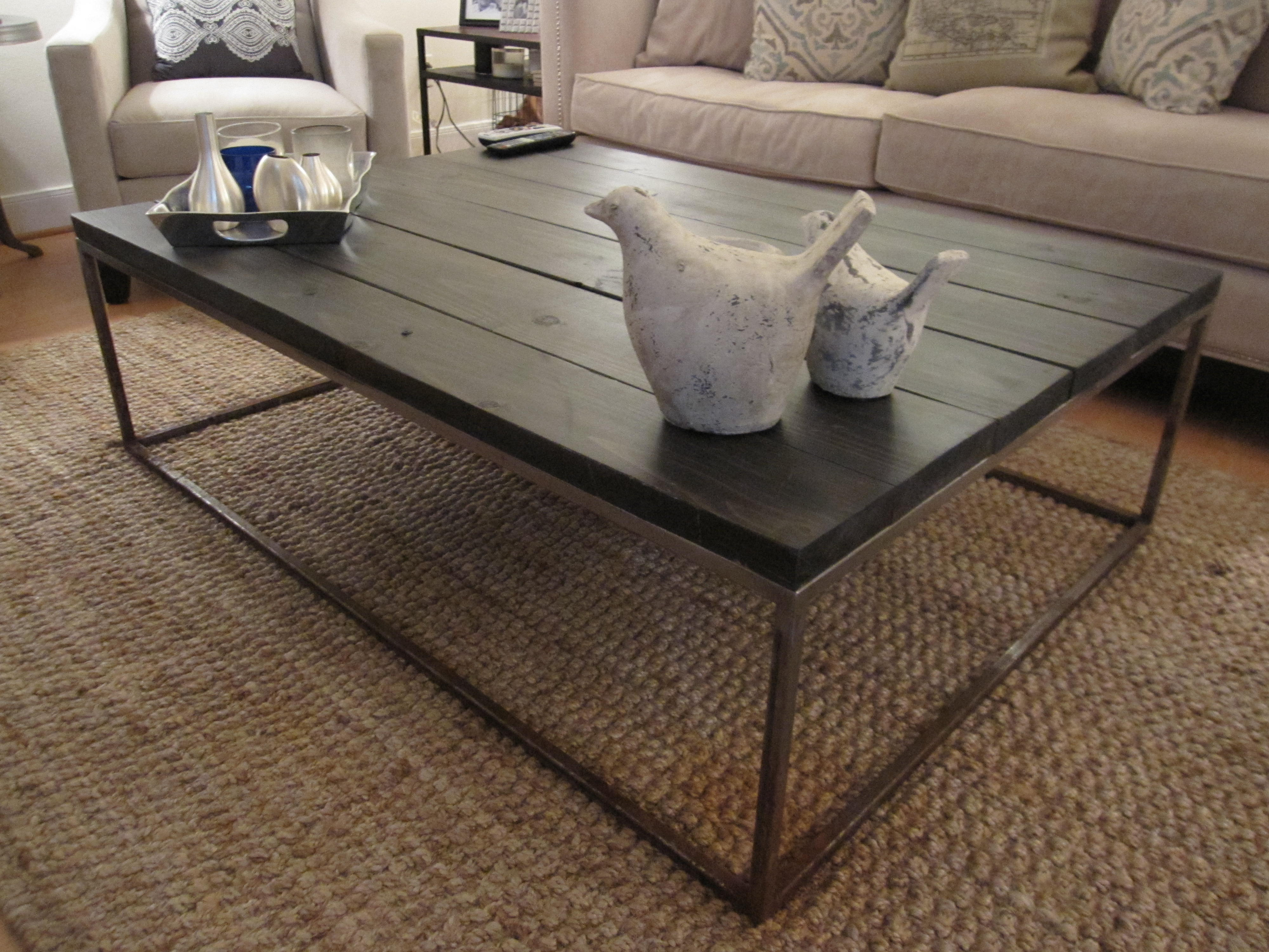 custom coffee table – ala restoration hardware (and many others Building a Coffee Table from Scratch