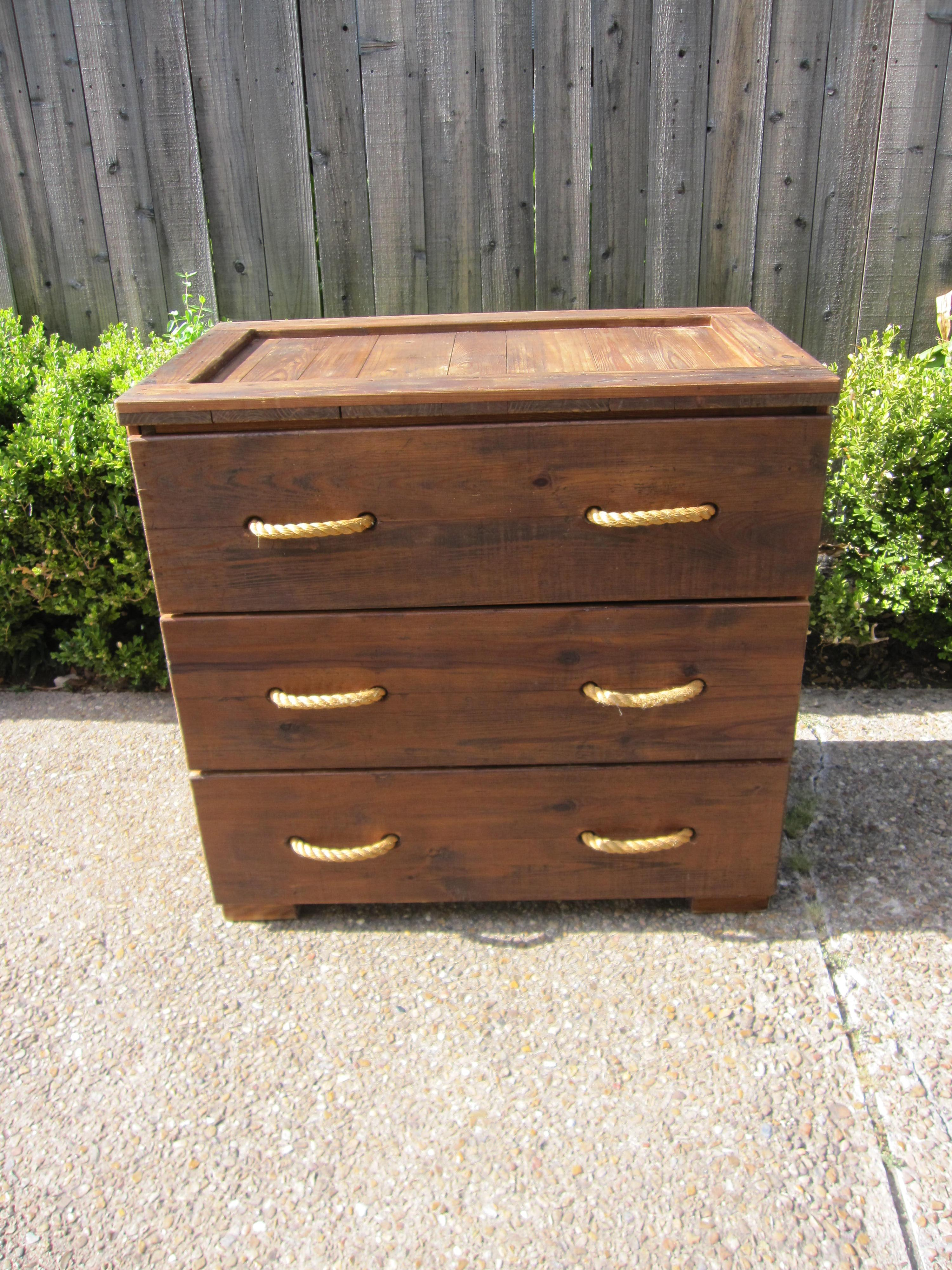 What Can We Say This Chest Of Drawers Is Mive Each Drawer 12 Inches Tall 24 Deep And Almost 40 Wide It S Made Solid Wood With